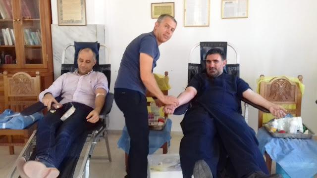 Νέοι και νέες της ενορίας Κεστρίνης Θεσπρωτίας έδωσαν αίμα