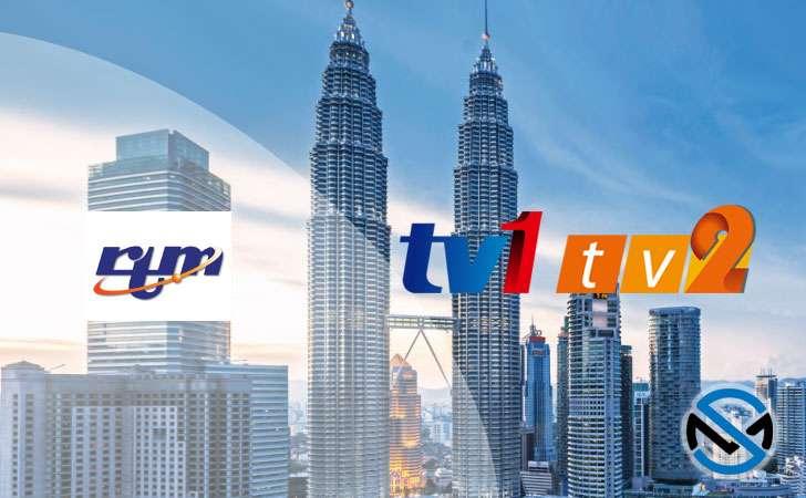 Frekuensi terbaru RTM TV1 dan TV2 Malaysia