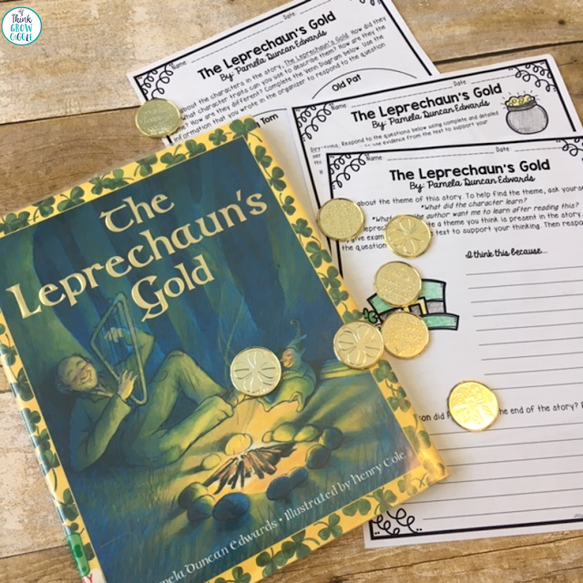 ST Patricks Day read aloud activity
