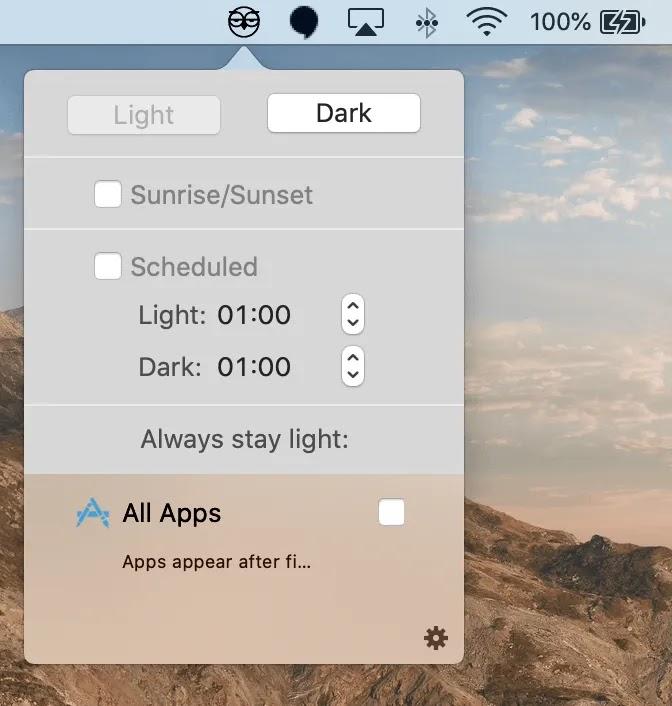 يمكنك جدولة Dark Mode لفترة محددة باستخدام تطبيق NightOwl.