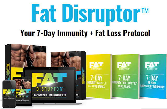 Fat Disruptor REVIEWS SCAM OR LEGIT? Fat Disruptor program, The 7-Day Fat Disruptor Immunity + Fat Loss Protocol PDF BOOK DOWNLOAD HERE
