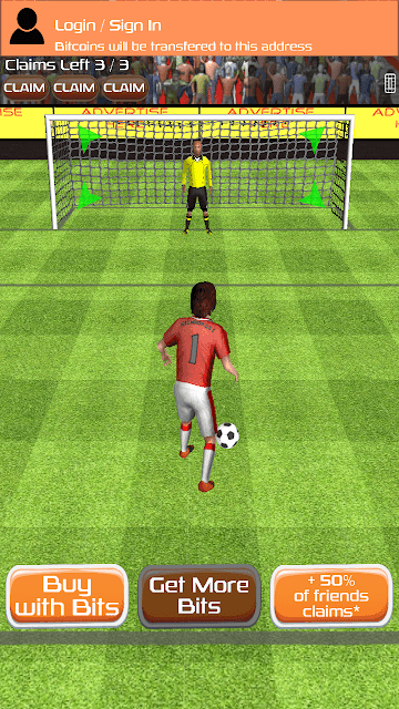 Penalty hero Game play