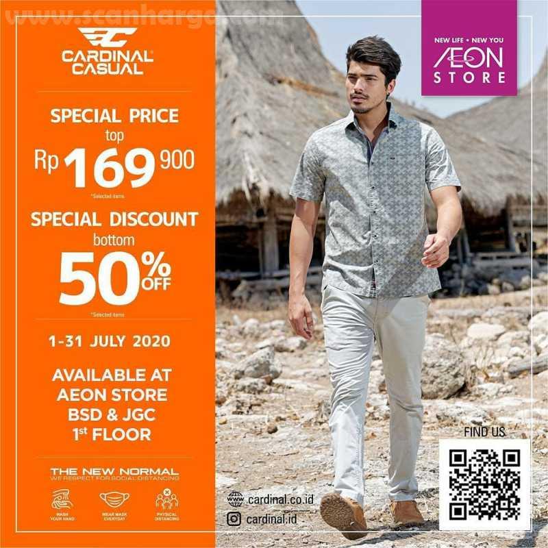 AEON Promo Cardinal Special Price + Diskon 50% Berlaku di AEON BSD & JGC