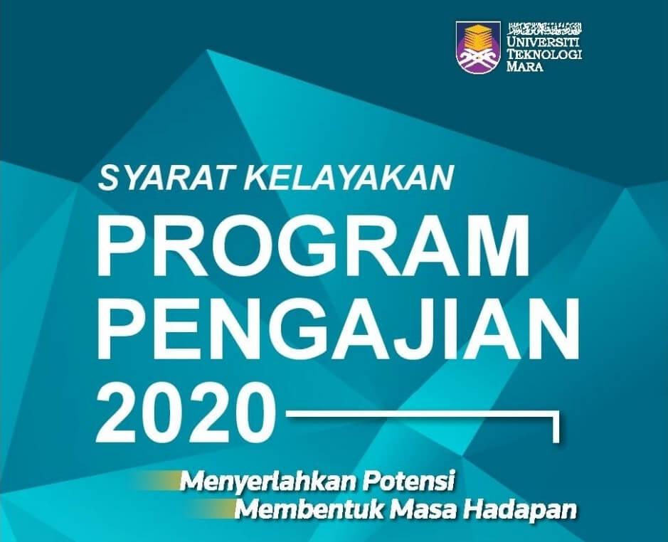 Jom Masuk Uitm Semak Syarat Kelayakan Program Pengajian Di Uitm 2020