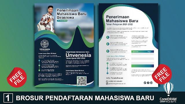 Download Brosur Pendaftaran Mahasiswa Baru Ke-8