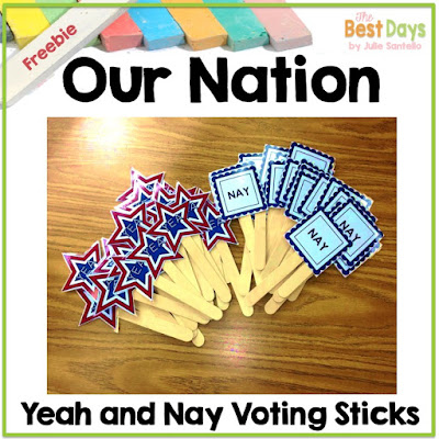 Yeah and Nah sticks for voting