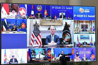 Kemitraan ASEAN dan Amerika Serikat Jadi Kekuatan Positif bagi Perdamaian dan Kemakmuran Kawasan