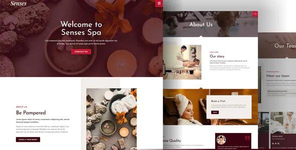 Best Beauty Spa Salon Elementor Template Kit