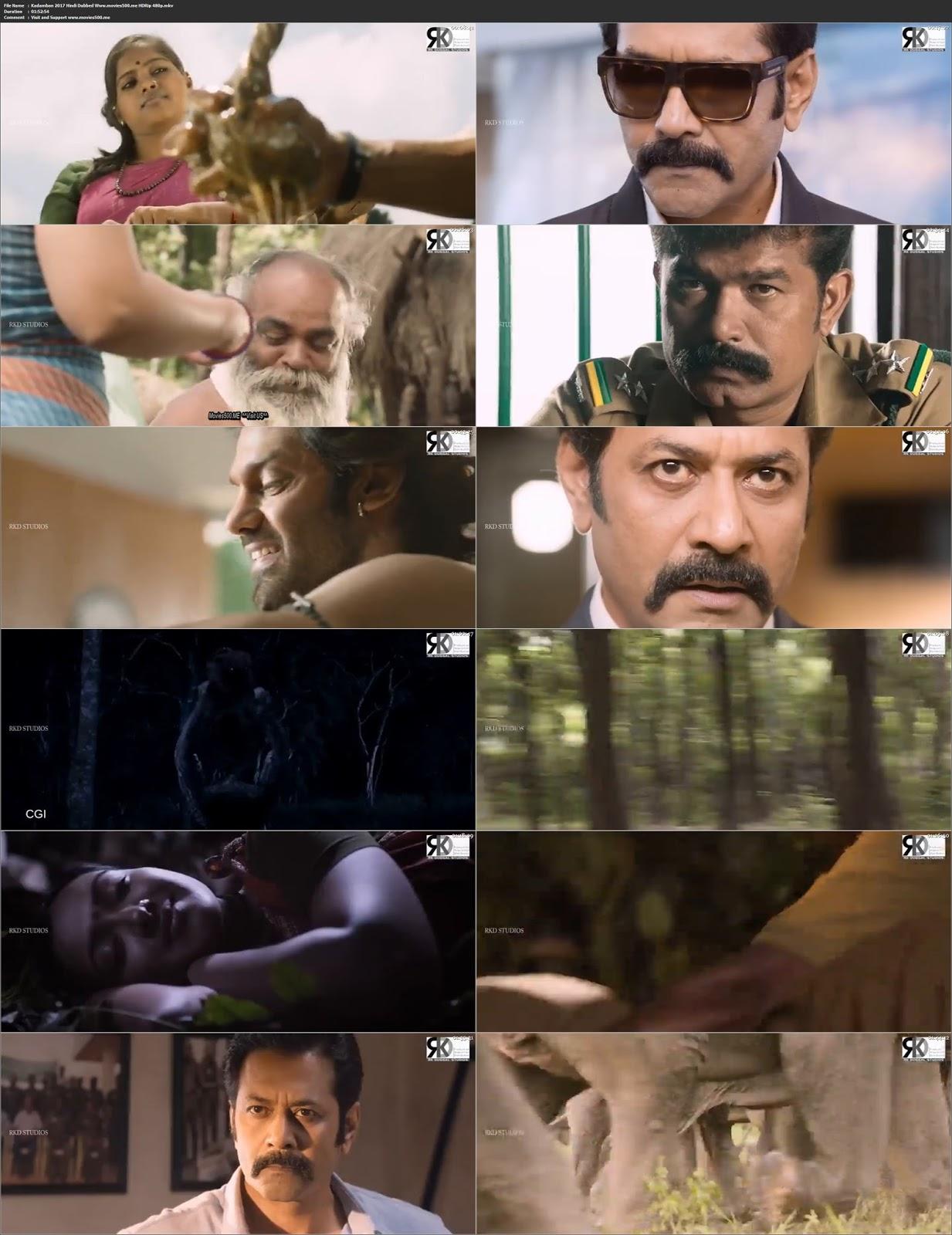 Kadamban 2017 in Hindi 300MB HDRip 480p at movies500.site