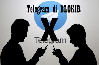 Trik Membuka Web Telegram yang diBlokir 100% Berhasil