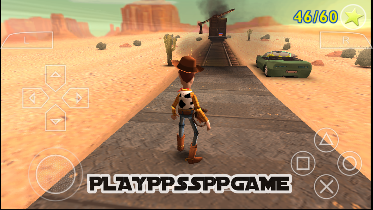 Toy Story 3 (USA) ISO PPSSPP For Android/iOS