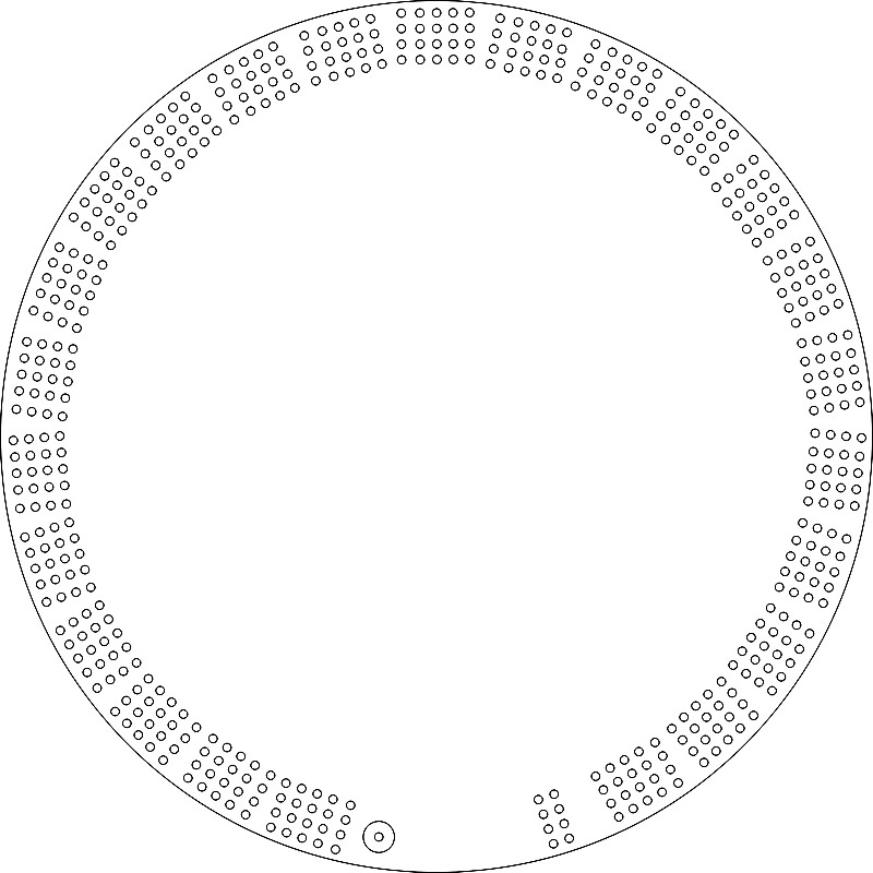 Cribbage board templates gallery template design ideas for Cribbage board drilling templates