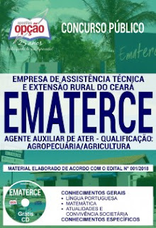 baixar Apostila Concurso EMATER CE 2018 PDF