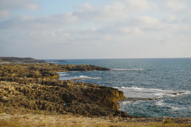 רכס הכורכר בחוף הבונים
