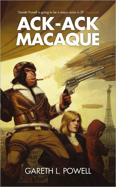 Interview with Gareth L. Powell, author of  Ack-Ack Macaque and More - December 11, 2012