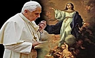 Resultado de imagen para Decálogo de Benedicto XVI sobre el Rosario