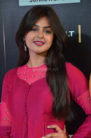 Monal Gajjar in Maroon Gown Stunning Cute Beauty at IIFA Utsavam Awards 2017 009.JPG