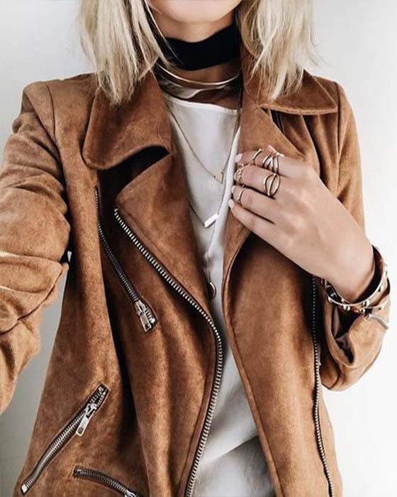 Fotos tumblr con chaquetas que te haran ver irreverente
