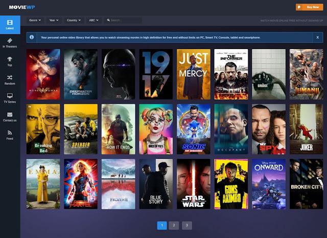 Movie Database WordPress Theme
