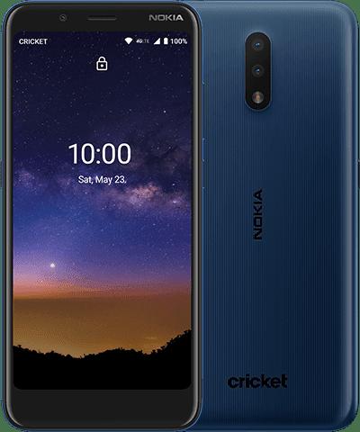 Nokia C2 Tava Tempered Blue