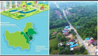 Lokasi Ibu Kota Negara yang Baru