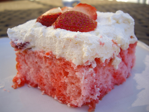 The Price Life Yummy Strawberry Cake