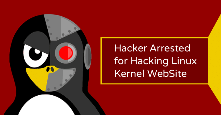 Hacker Who Hacked Official Linux Kernel Website Arrested in Florida