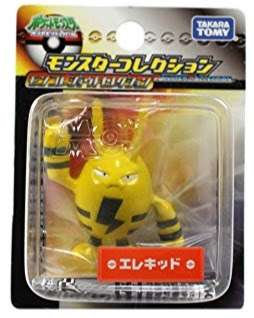 Elekid Pokemon figure Tomy Monster Collection Johto selection series