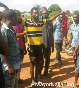 """Father who Murdered his infant Daughter in Benue claims he was obeying """"GOD Directive"""" Triumphantly walks into the Police Station"""