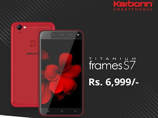Karbonn Titanium Frames S7 Launched at Rs 6999