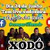 Você não pode perder a maior e melhor live de São João, dia 24 tem Xodó &Cia