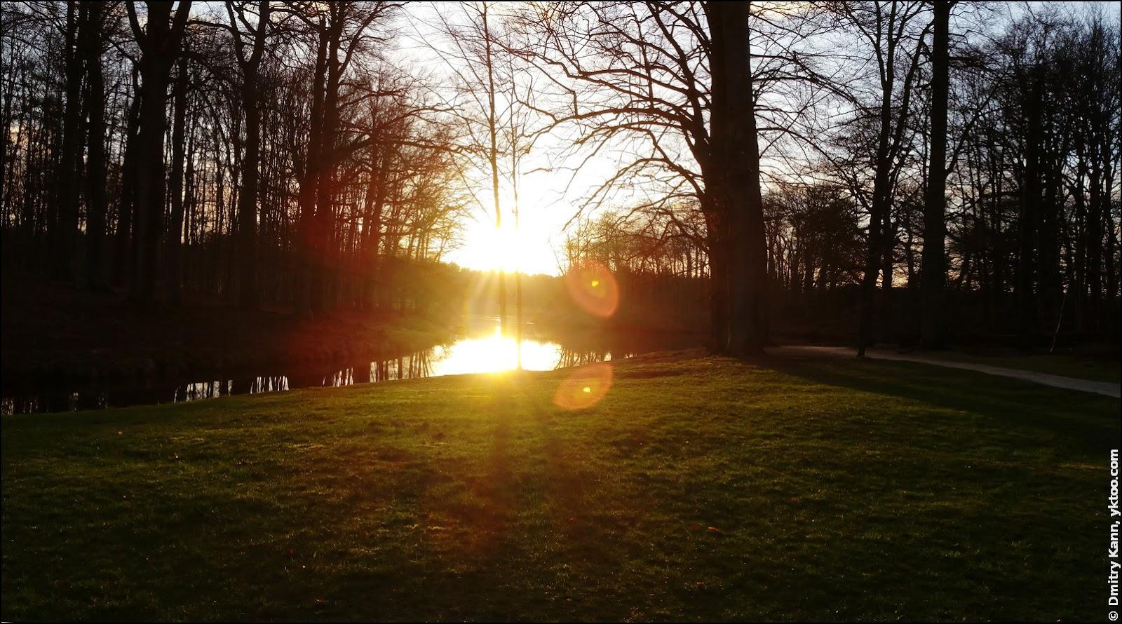 Baarn before the sunset.