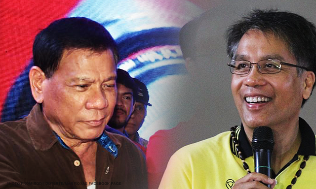Mar Roxas is a Pretentious Leader, Duterte Says During Debate
