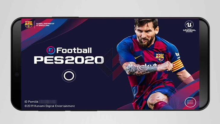 Cara Login Akun Lama e-Football PES 2020 Mobile di HP Baru