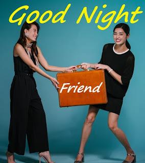 good night for female friend