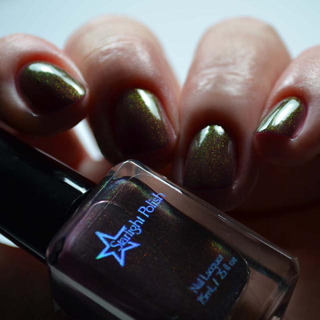 plum unicorn pee nail polish