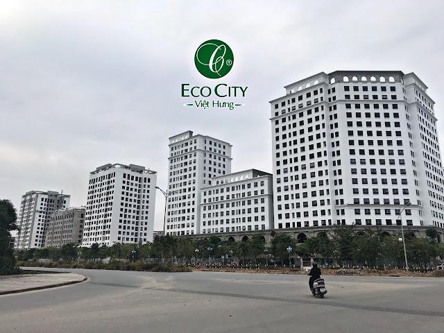 Hình ảnh Eco City nhìn từ Vinhomes Riverside