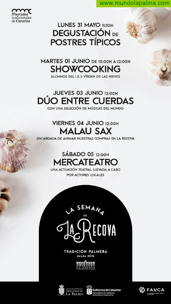 La Semana de la Recova vuelve a Santa Cruz de La Palma para promover el consumo local