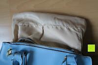 Stoff: Veevan Damen Elegante Top-Handle Schultertasche Handtaschen (Blau)