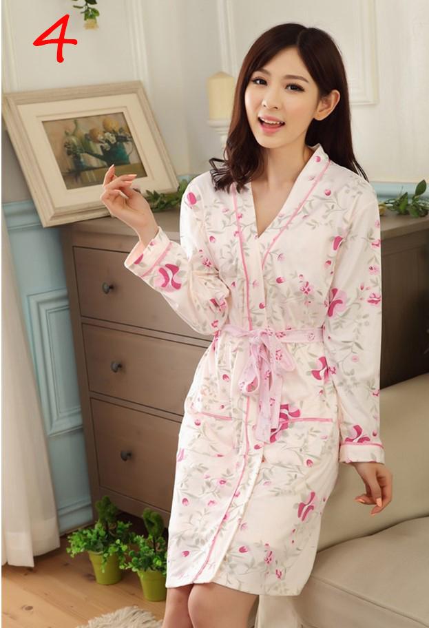 Áo choàng kèm váy ngủ dễ thương kín đáo 5