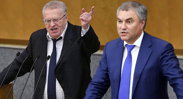 В. Жириновский оскорблял А. Навального при выступлении в Госдуме – реакция и комментарии спикера В. Володина