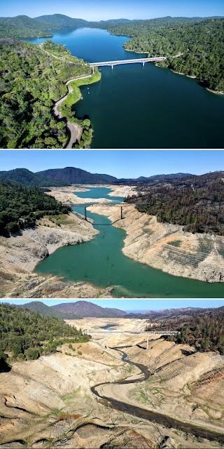 Lake Oroville, California