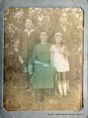 photo de famille N et B