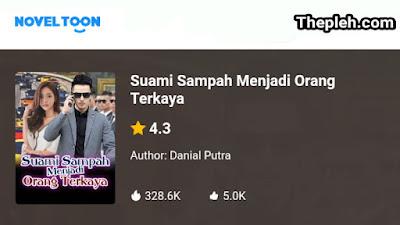 Novel Suami Sampah Menjadi Orang Terkaya Karya Danial Putra