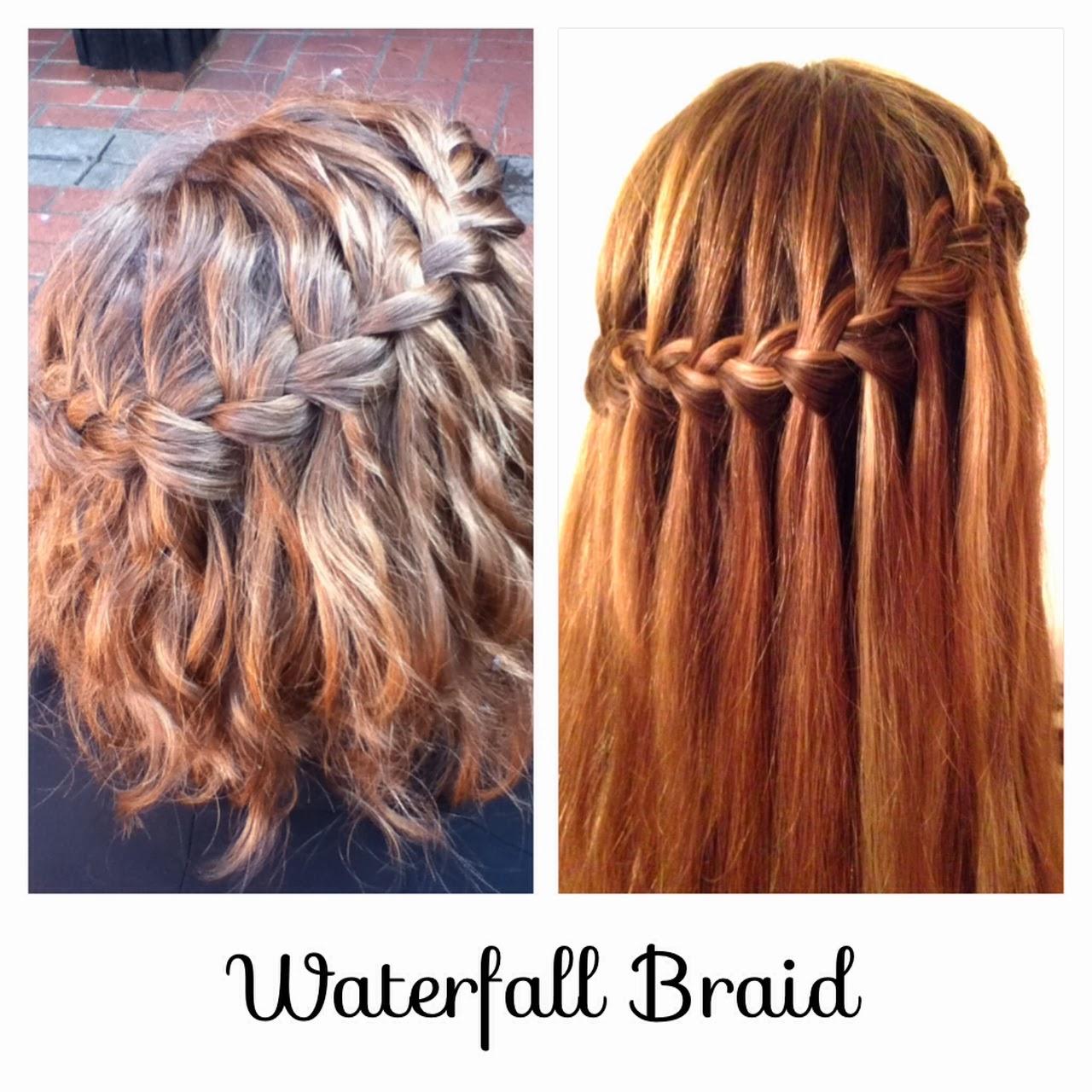 Waterfall Braid Hairstyles: Hair Styles By Liberty: Waterfall Braid