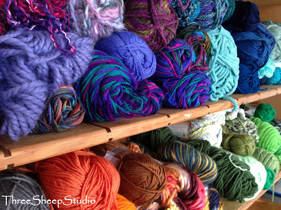Gorgeous Yarn from Messy Scarf Co
