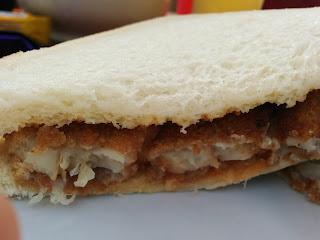 A Fish Finger Sandwich