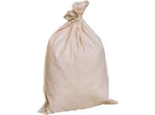 Darmatek Jual CALICO BAGS -- Sample Bag Calico with Draw Sring