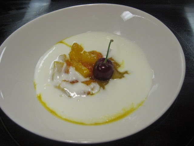 Mil postres salteado de fruta con crema de queso y yogur - Postres con queso de untar ...
