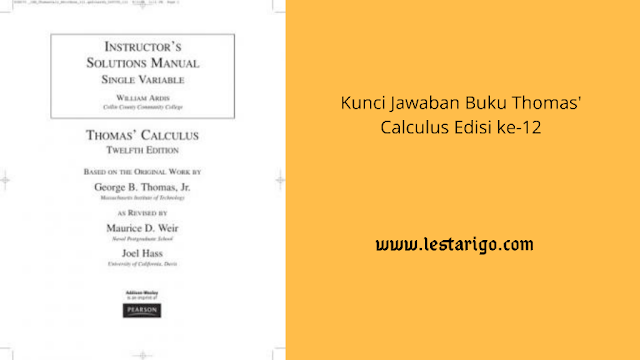download kunci jawaban thomas calculus pdf